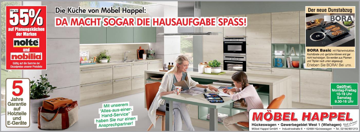 Mobel Happel Gmbh Rabattaktion Nolte Und Nobilia Planungskuchen